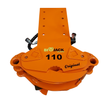 Biojack 110 felling grapple for excavator