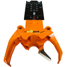 Biojack 180 with boom and NTP10 quick coupling for excavator