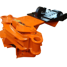 Biojack 230 (with NTP10 attachment) felling grapple for excavators