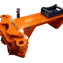 Biojack 230 boom (S40 quick coupling), felling grapple for excavators, fällgreifer, baumschere, energiakoura, grappin sécateur, tree shear, energigrip