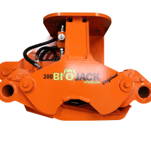 Biojack 300 BA90 felling grapple - tree shear