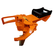 Biojack 300 felling grapple for excavator